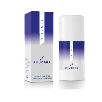 EmuCare Oil/Gel 100 ml voor psoriasis, eczeem ea huidaandoeningen