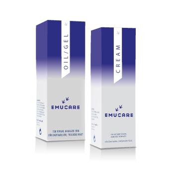 EmuCare Behandeling voor Psoriasis, Extreme Droge Huid, Brandwonden, Littekens etc.